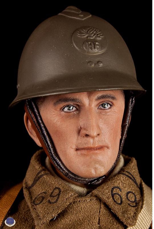 CalTek guerre mondiale deux français fantassin Sac ou Pouch 1//6 Toys DID Dragon Bbi Gi Joe Bbi