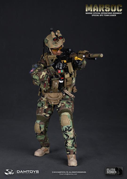 Alerte ligne USMC Sangles Set 1//6th scale toy Accessoire